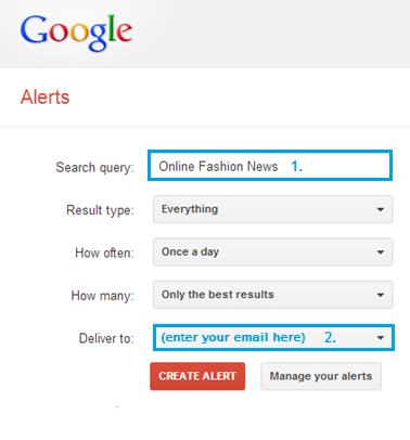 google alerrs